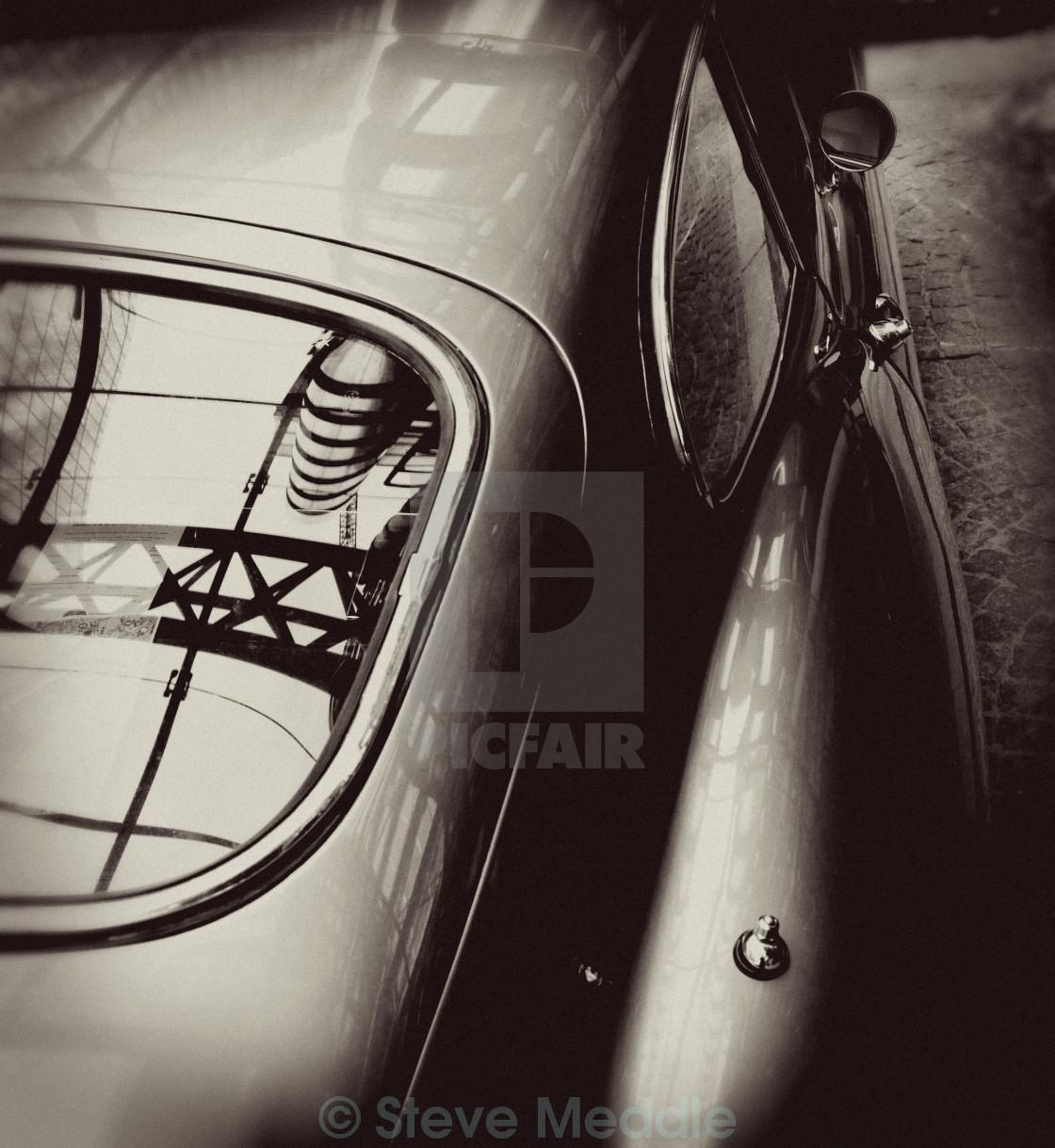 """""""E Type Jaguar Sports Car"""" stock image"""