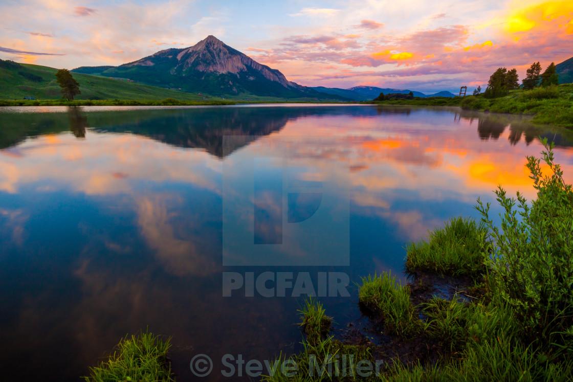 """Peanut lake"" stock image"