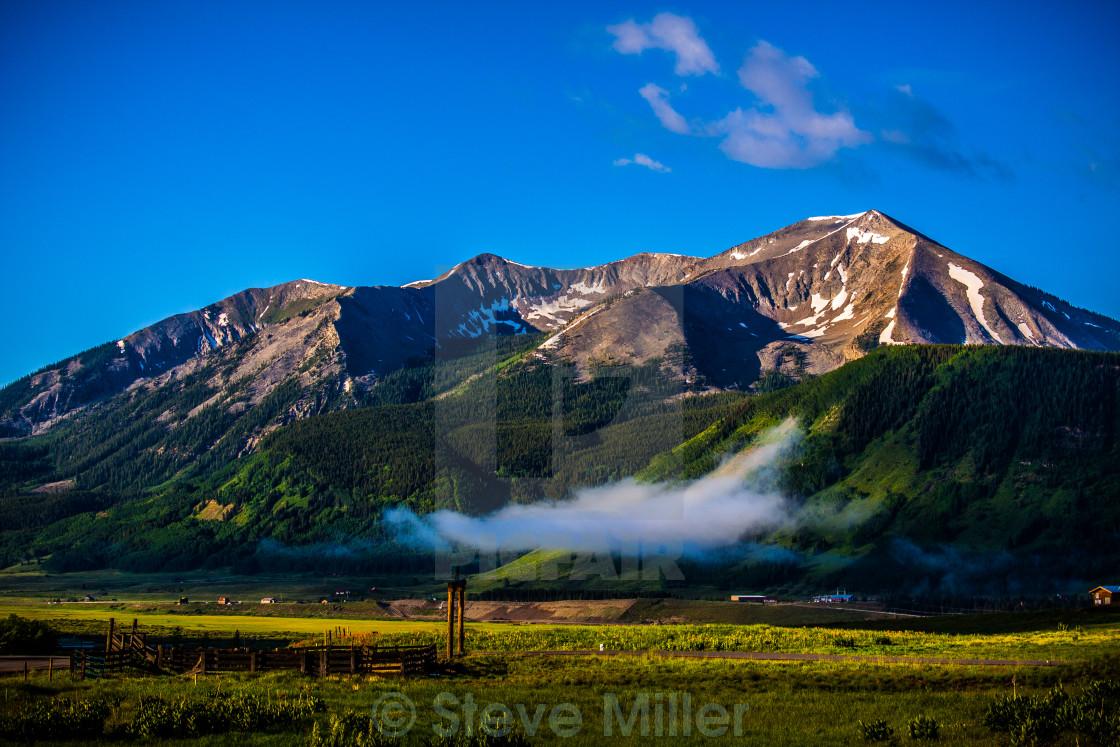 """""""Colorado Ranch Land"""" stock image"""