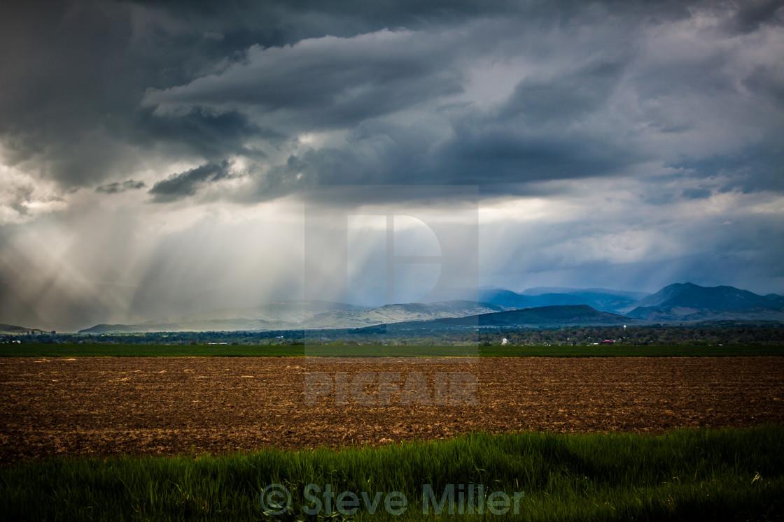 """Light and Rain"" stock image"