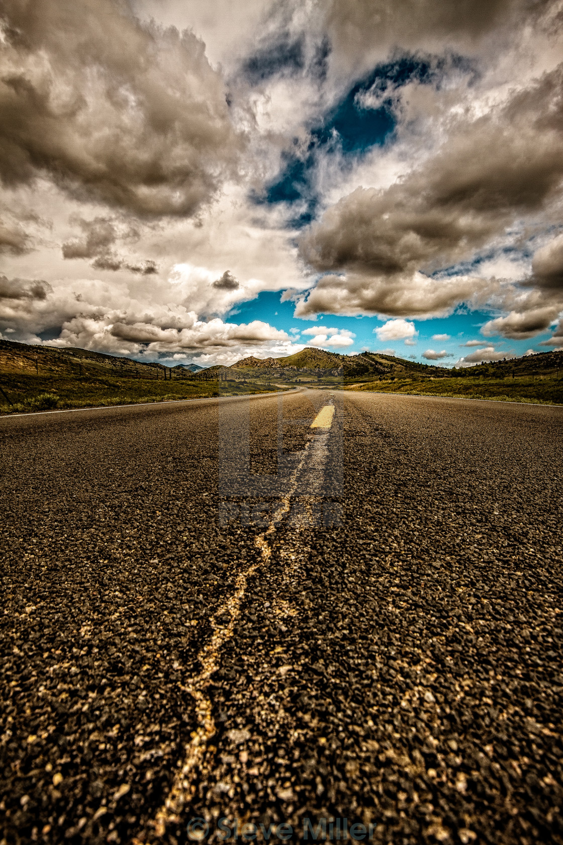 """On the Road Again"" stock image"