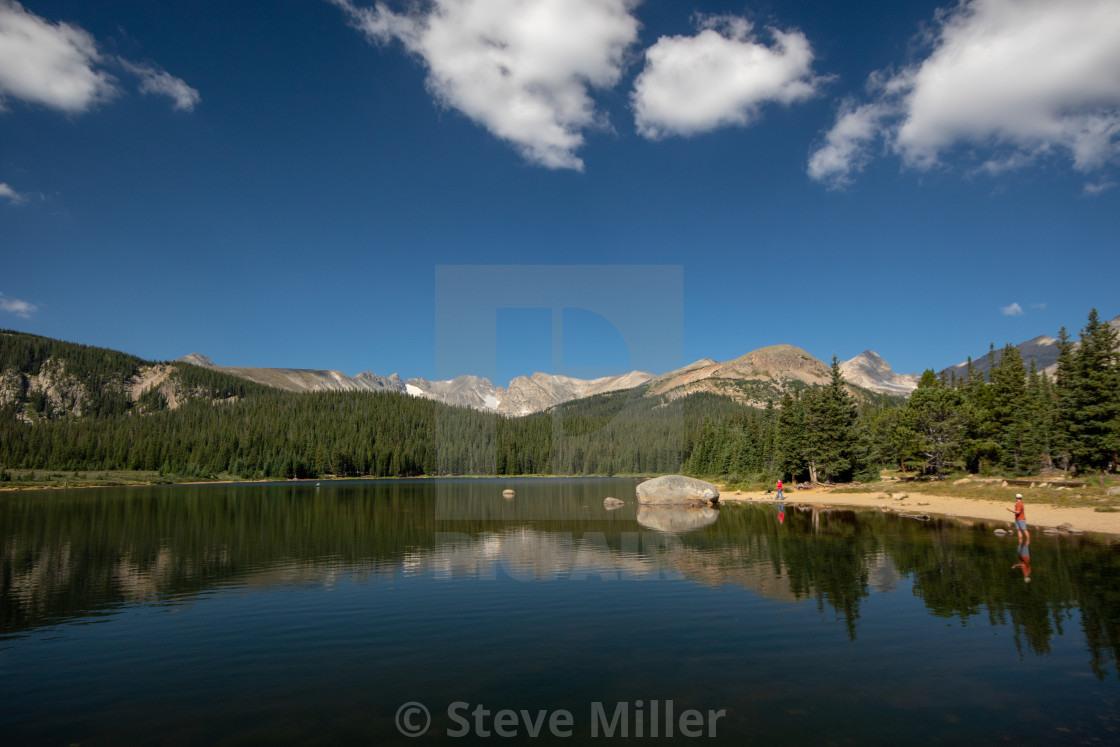 """Mountian Lake"" stock image"