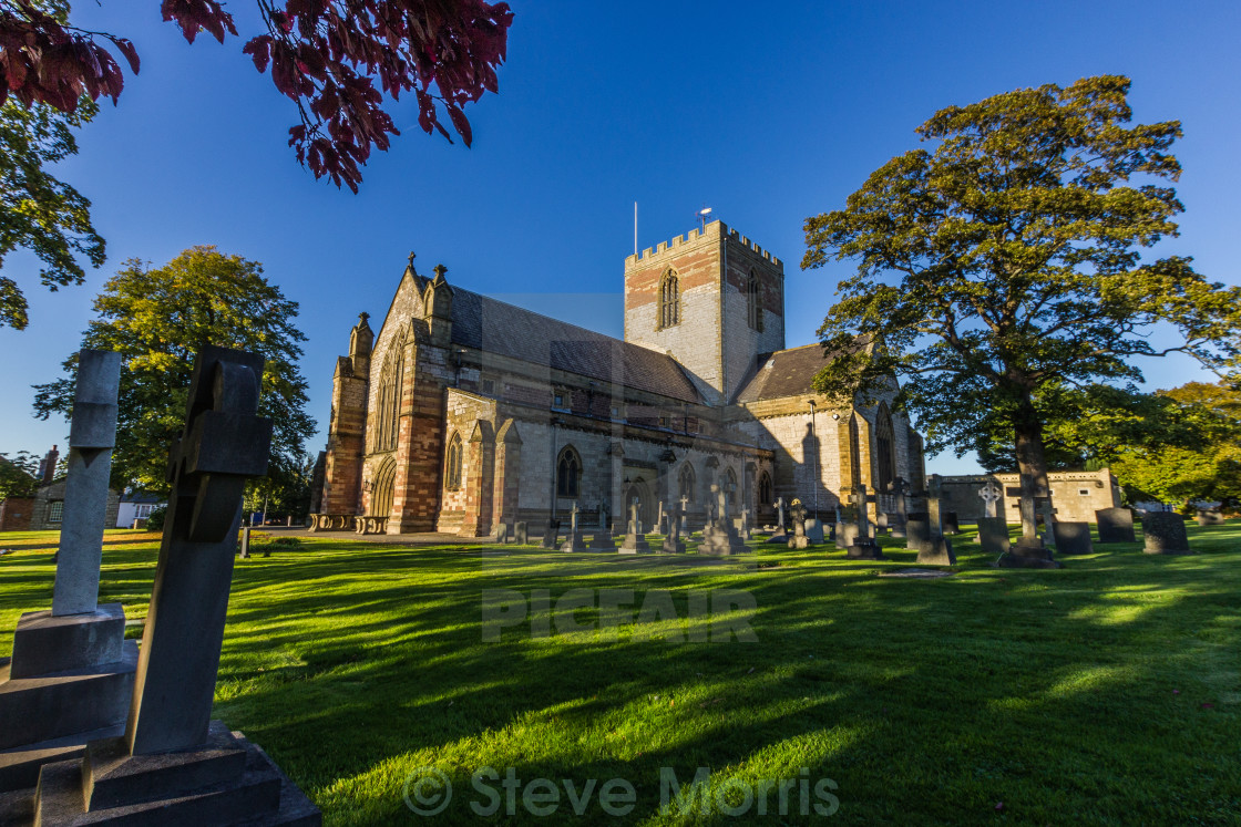 """St.Asaph Cathedral"" stock image"