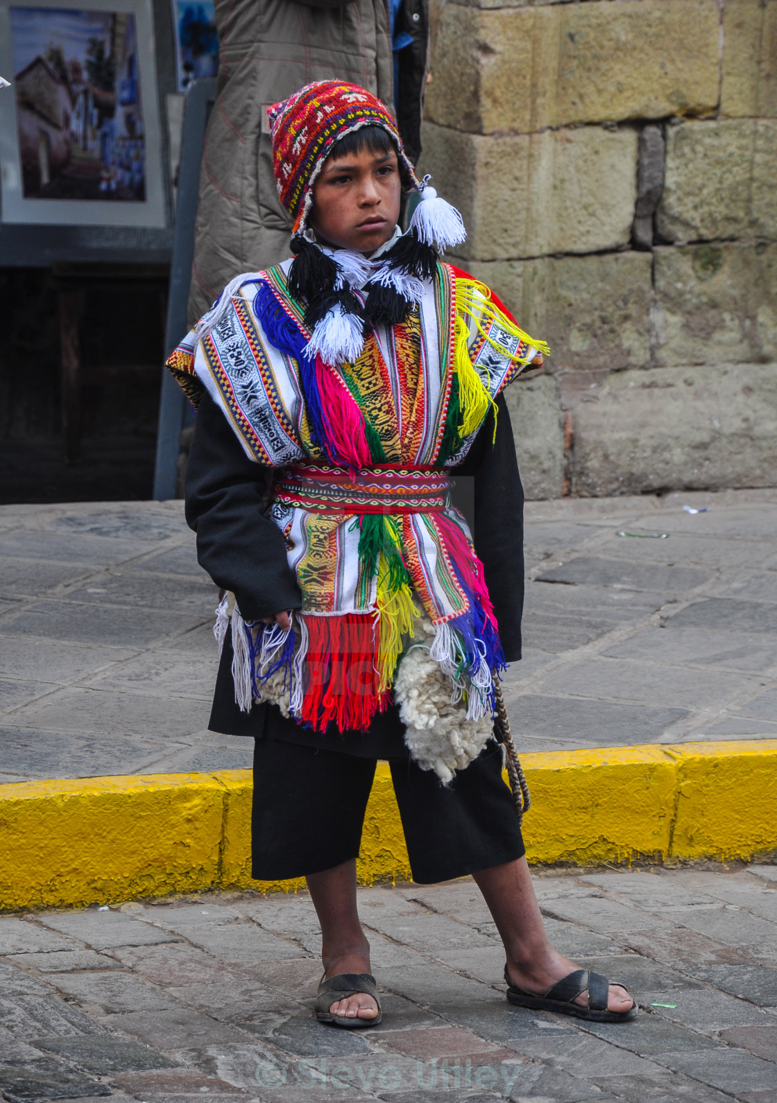 Little Inca boy - License for £6.20 on Picfair