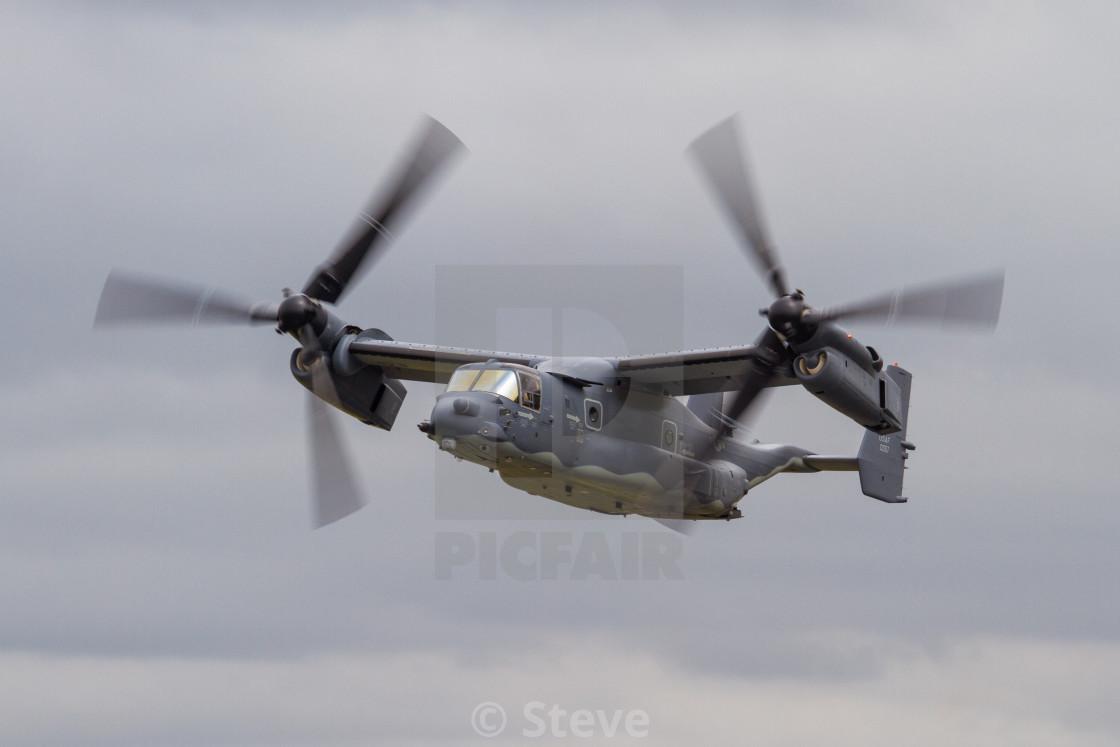 """USAF Osprey"" stock image"