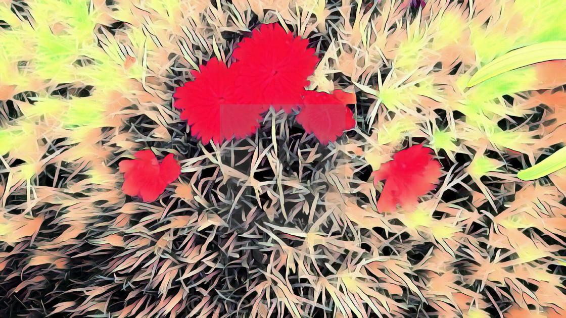 """""""Retro flowers"""" stock image"""