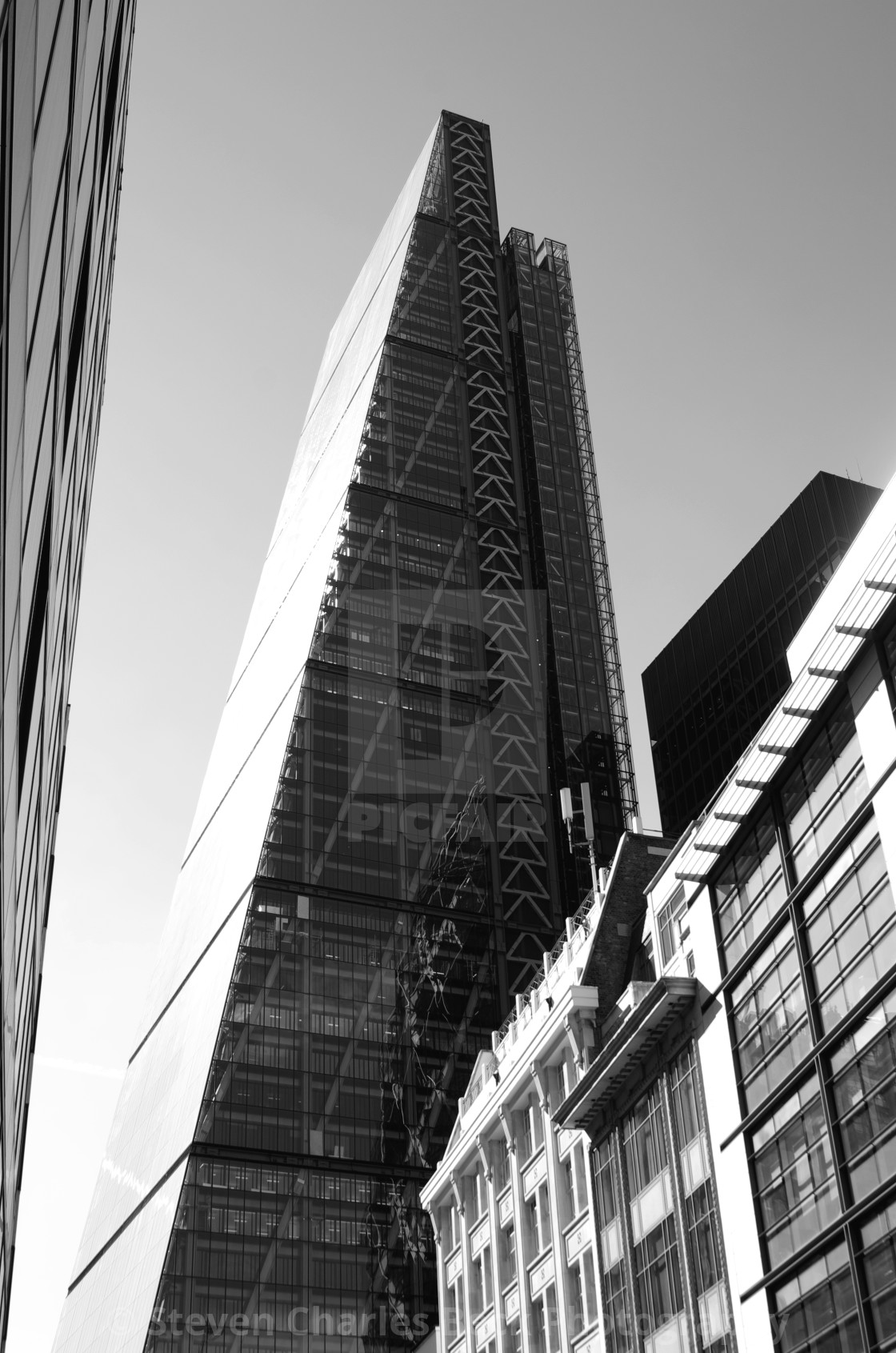 """""""The Cheesegrater"""" stock image"""