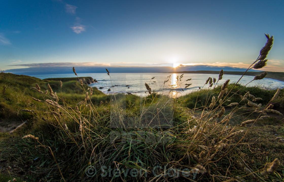 """""""Fresh West Sunset"""" stock image"""