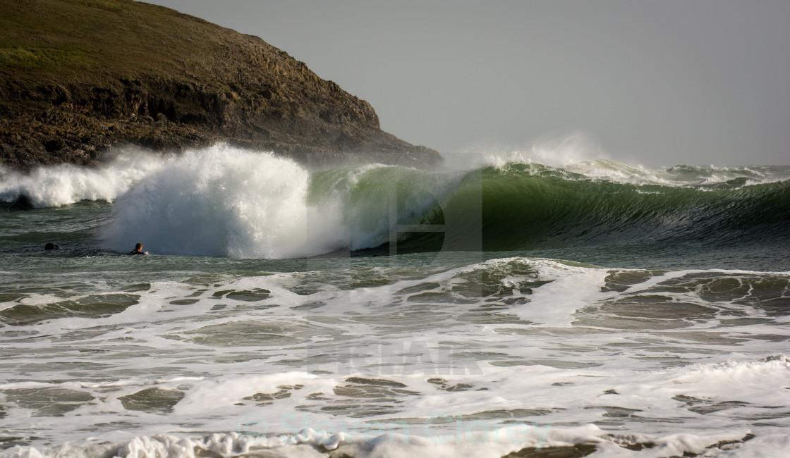 """Heavy Welsh Wedge"" stock image"