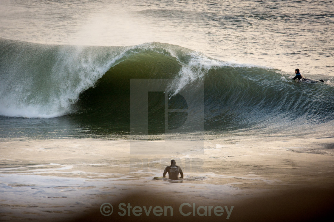 """""""Welsh Wave"""" stock image"""