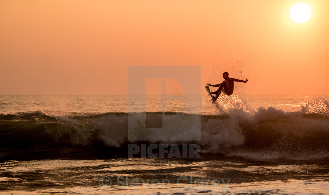 """Kiefer Sunset Air"" stock image"