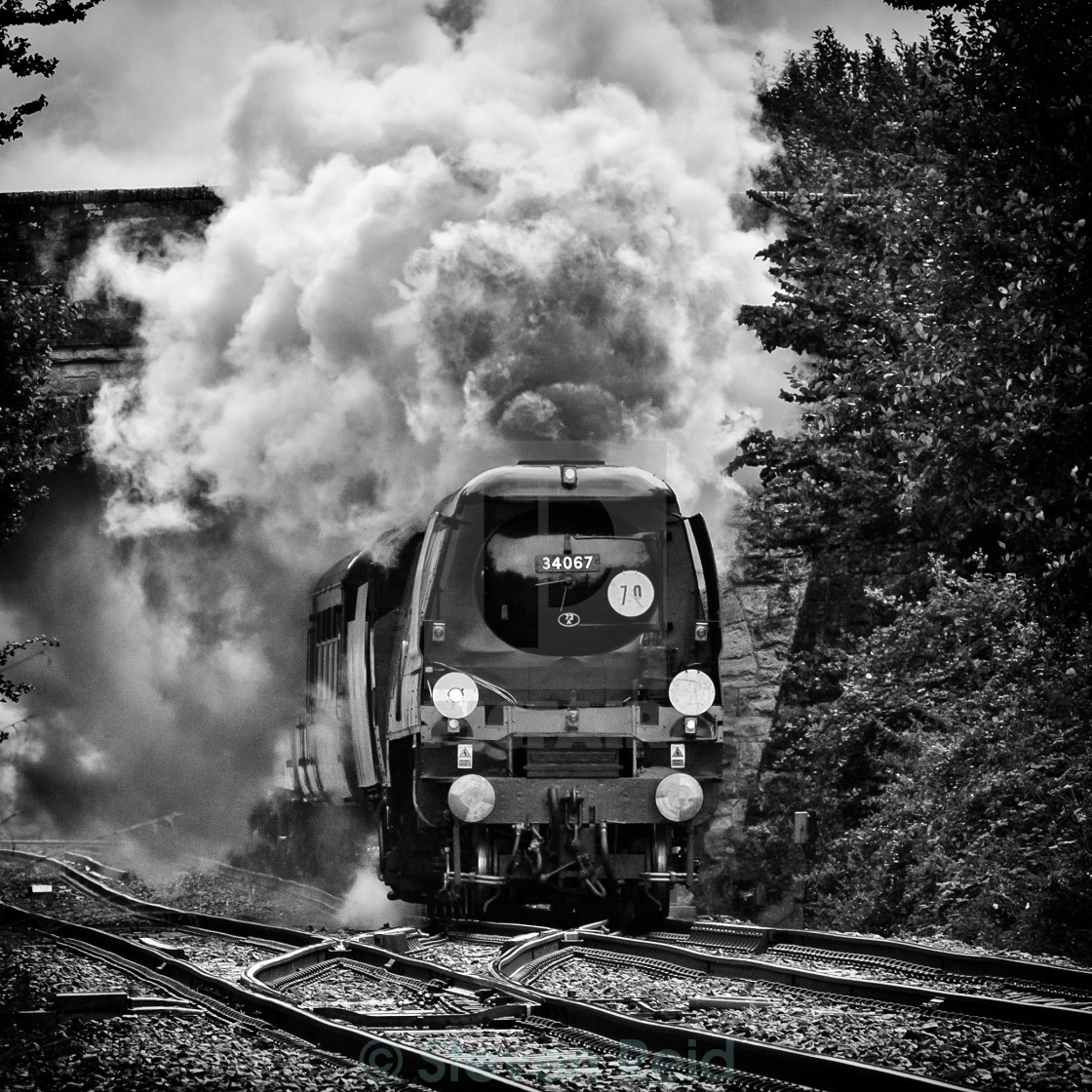 """Battle of Britain Class No. 340367 Tangmere"" stock image"