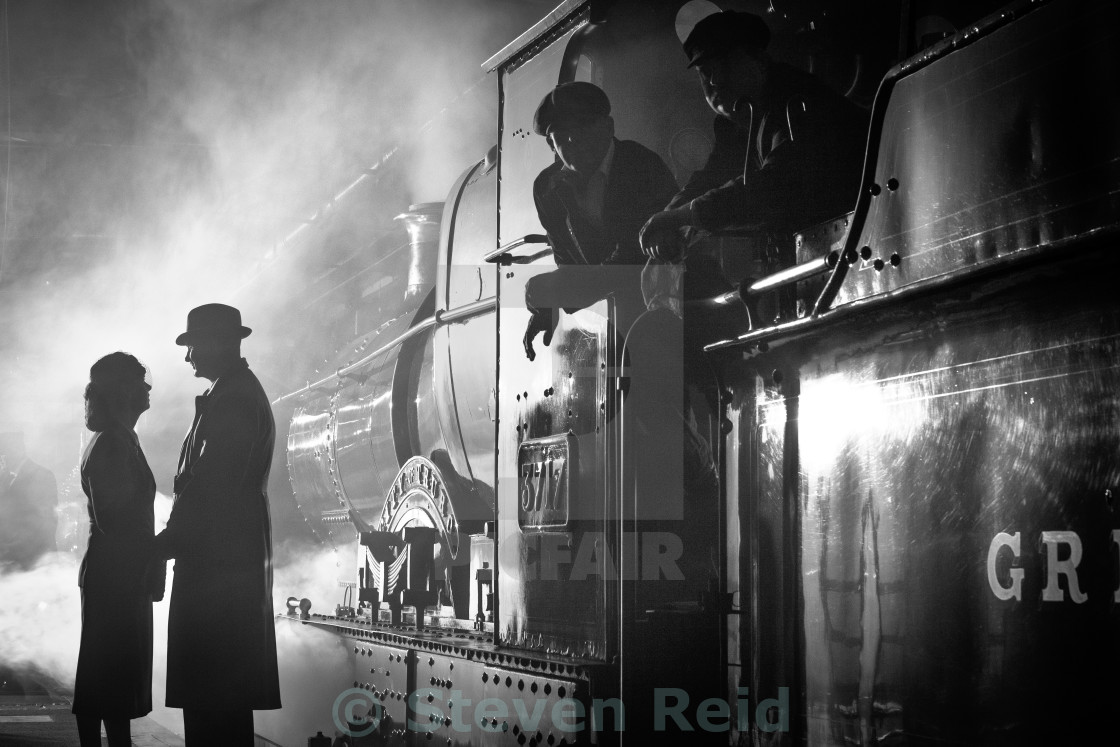 """A Brief Encounter"" stock image"