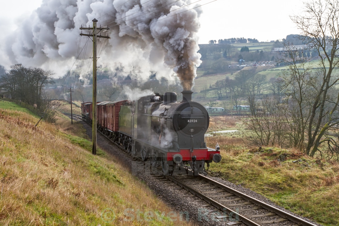 """Steam Freight"" stock image"
