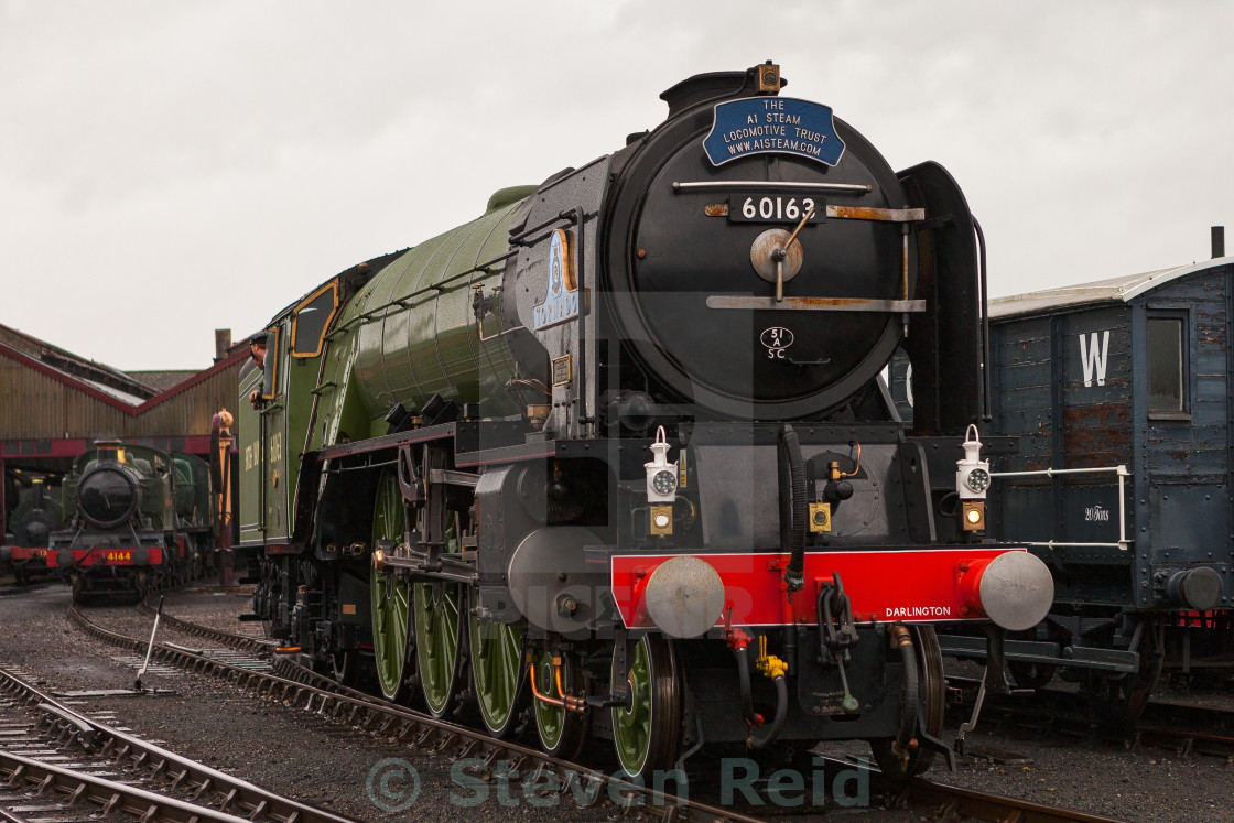 """Peppercorn A1 No.60163 Tornado"" stock image"