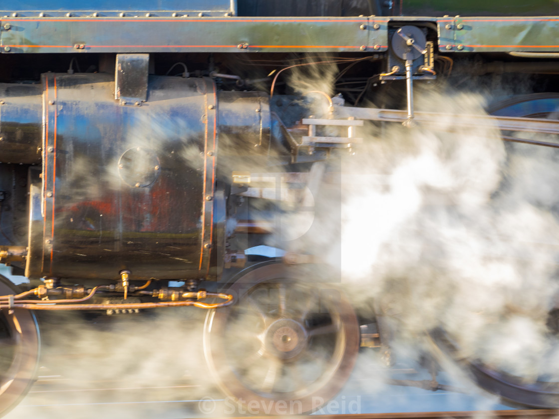 """Clyinders of Steam"" stock image"