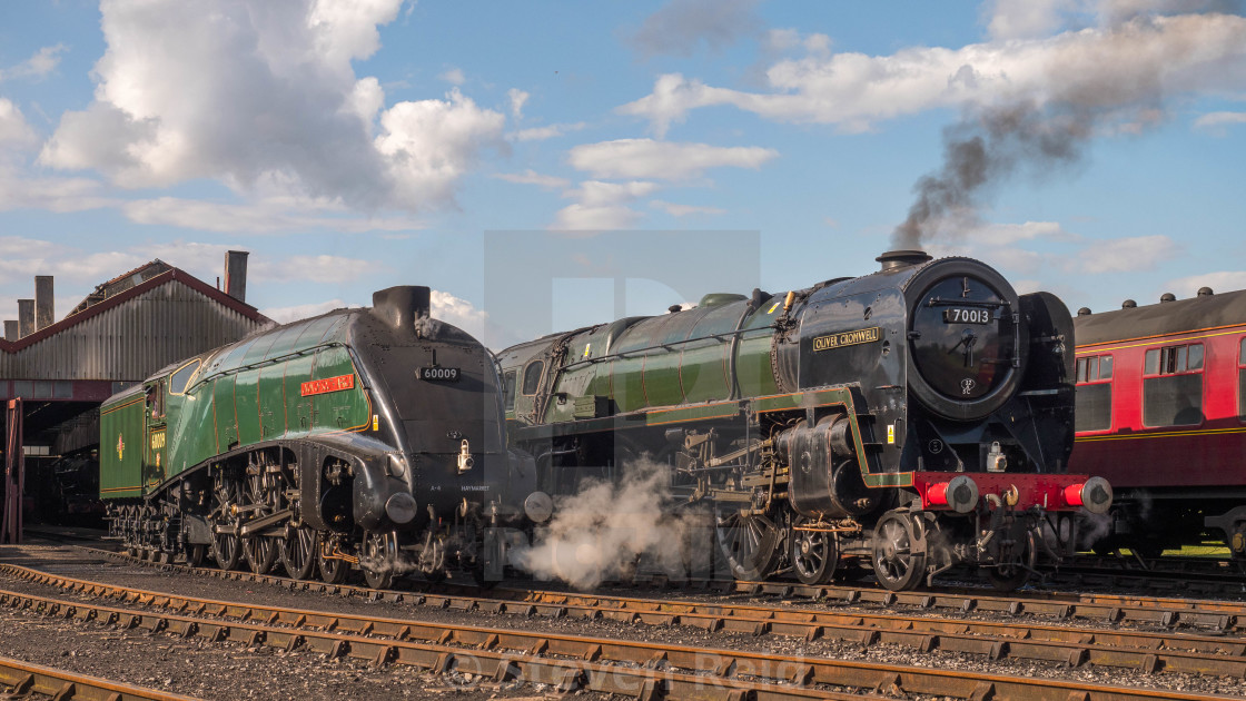 """Oliver Cromwell and Union of South Africa"" stock image"
