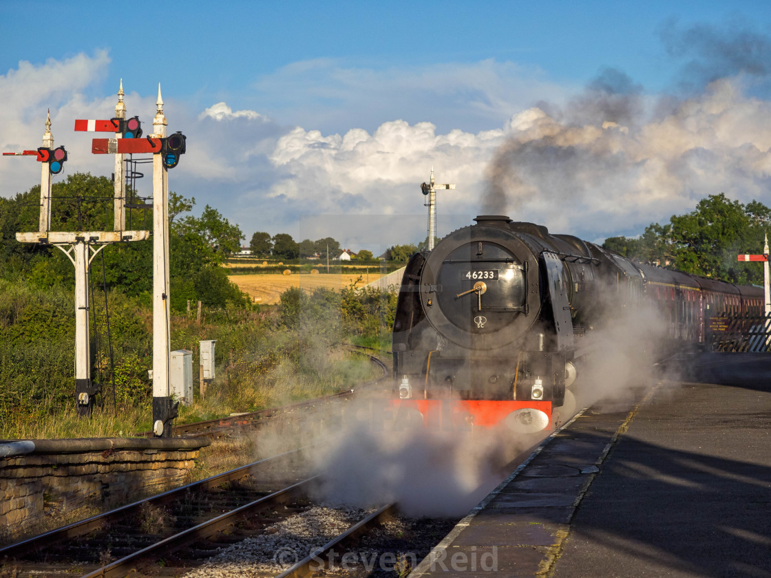 """No.46233 - Duchess of Sutherland"" stock image"