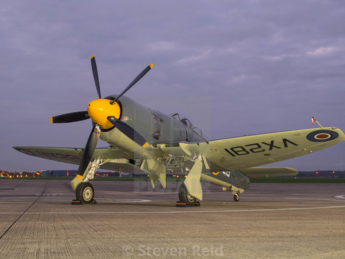 """Sea Fury"" stock image"