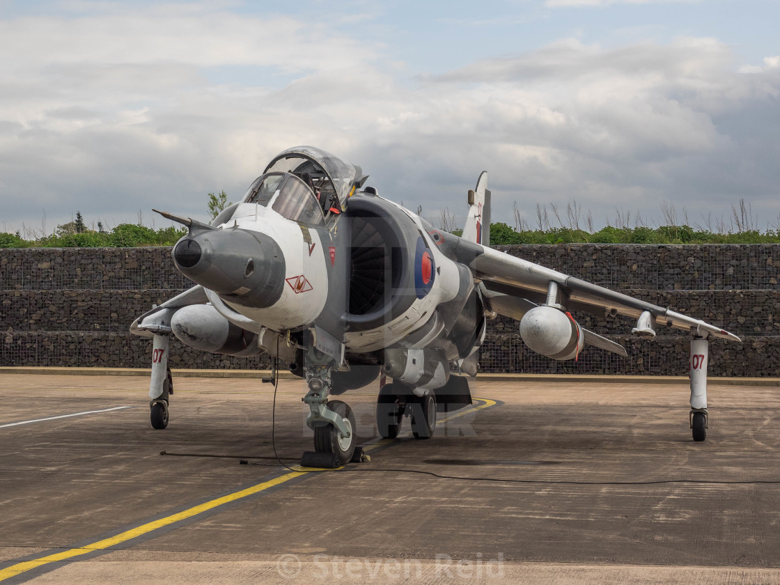 """RAF Harrier GR3"" stock image"