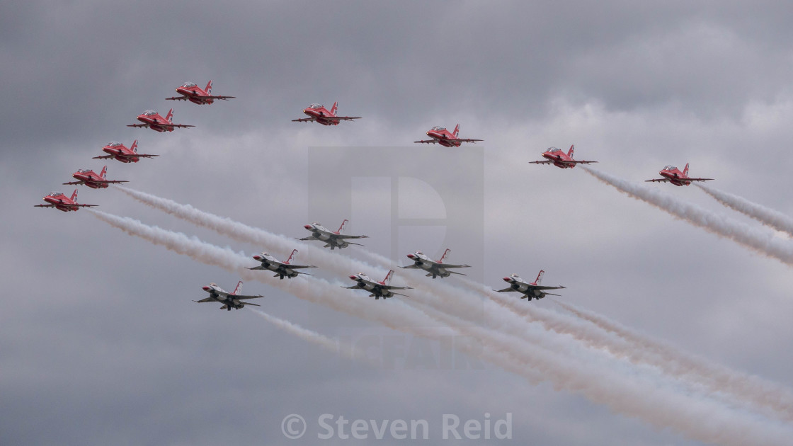 """Flypast"" stock image"