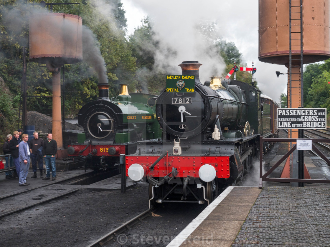 """GWR No.7812 Erlestoke Manor"" stock image"