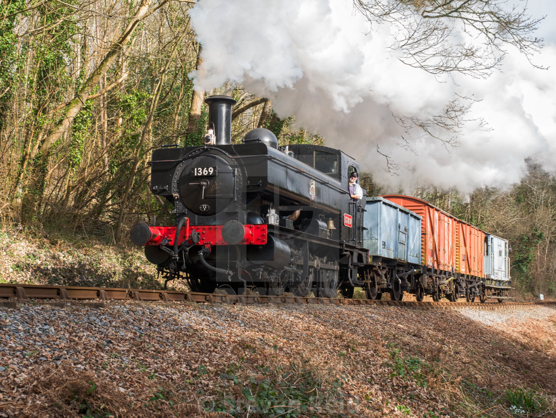 """GWR Pannier Tank No.1369"" stock image"