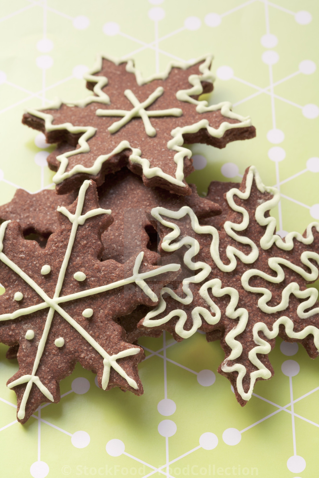 Star Shaped Christmas Biscuits License Download Or Print For