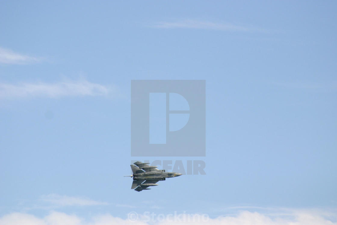 Fighter jet loaded and ready - License, download or print