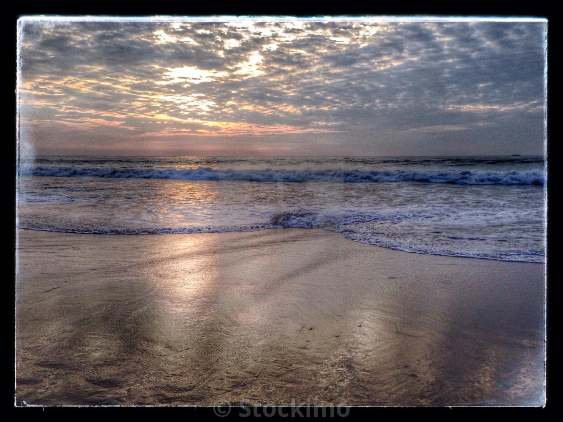 Hdr Sunset Of Hapuna Beach Hawaii License Download Or