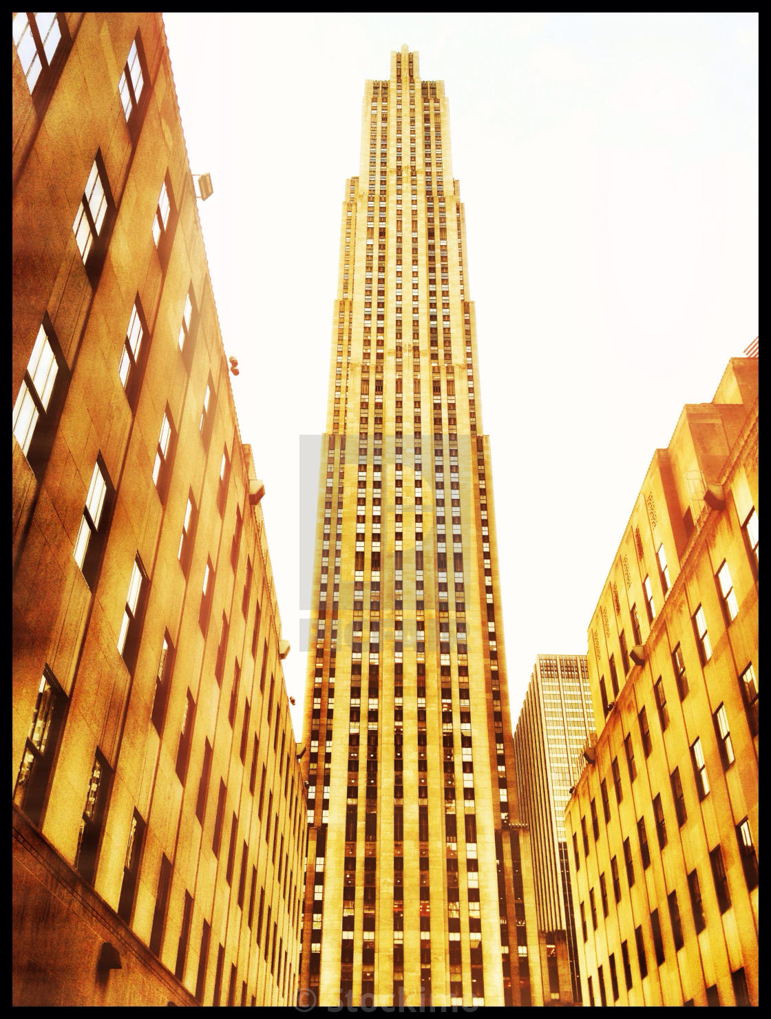 """Rockefeller Center"" stock image"