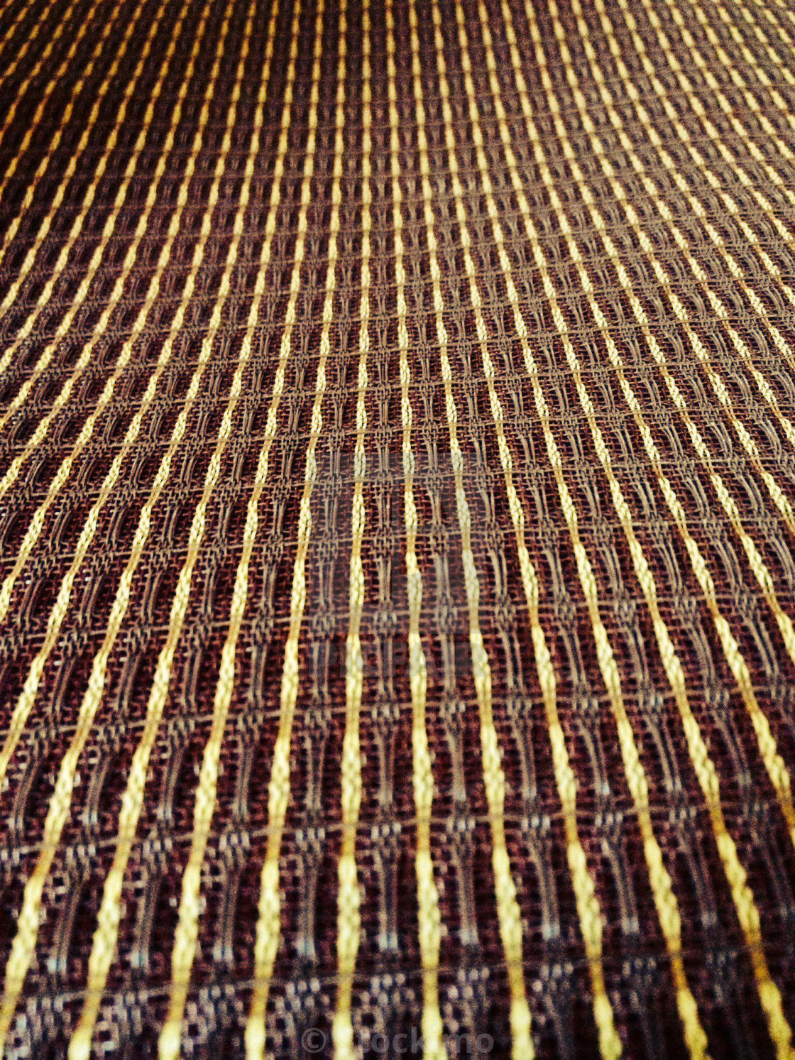Close up shot of ox-blood speaker grill cloth - License, download or