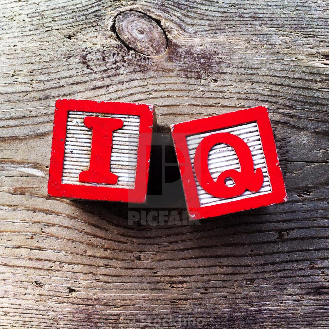 Its A Photo Of Two Wood Cubes Toy With Letters That Form The Word