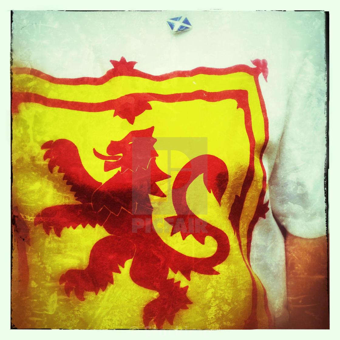 Scottish Lion Flag - Horse and Lion Photos