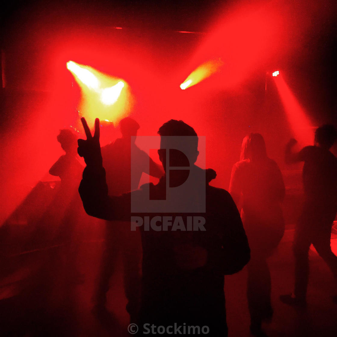 """Club life"" stock image"