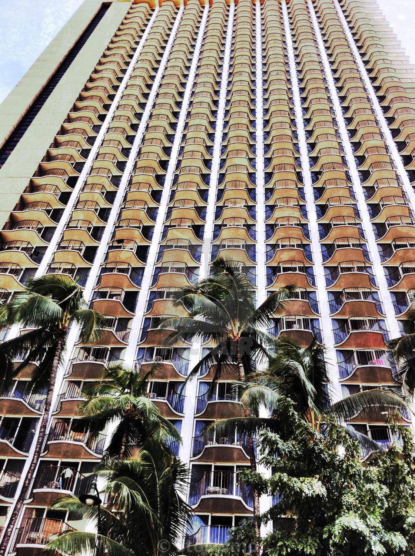 High Rise Hotel In Honolulu Near Waikiki Beach Hawaii