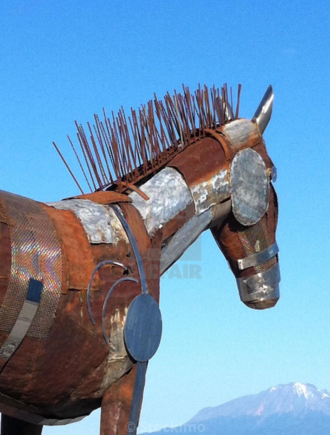 Scrap Metal Horse Sculpture Osorno Chile License Download Or Print For 31 00 Photos Picfair