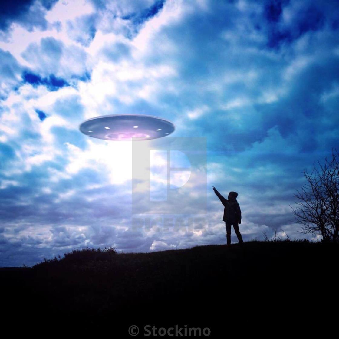 """Ufo"" stock image"