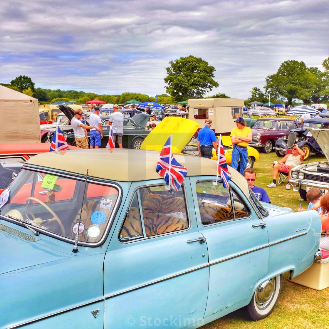 British Village Summer Car Show Kingsley Hampshire England UK - Car show england