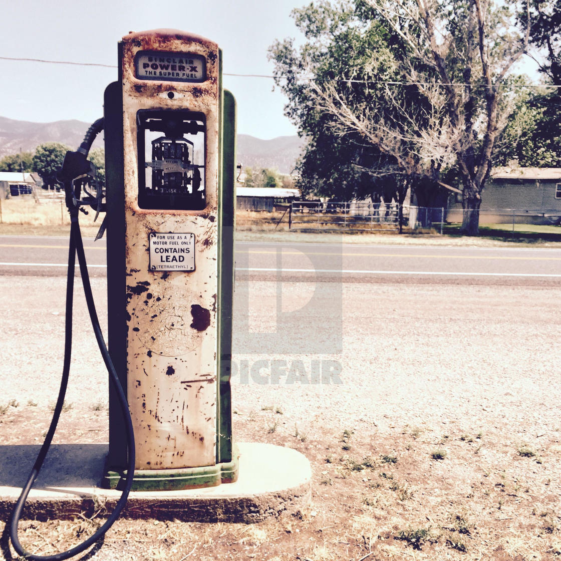 A Vintage Gas Pump At An Abandoned Gas Station In Utah License Download Or Print For 31 00 Photos Picfair