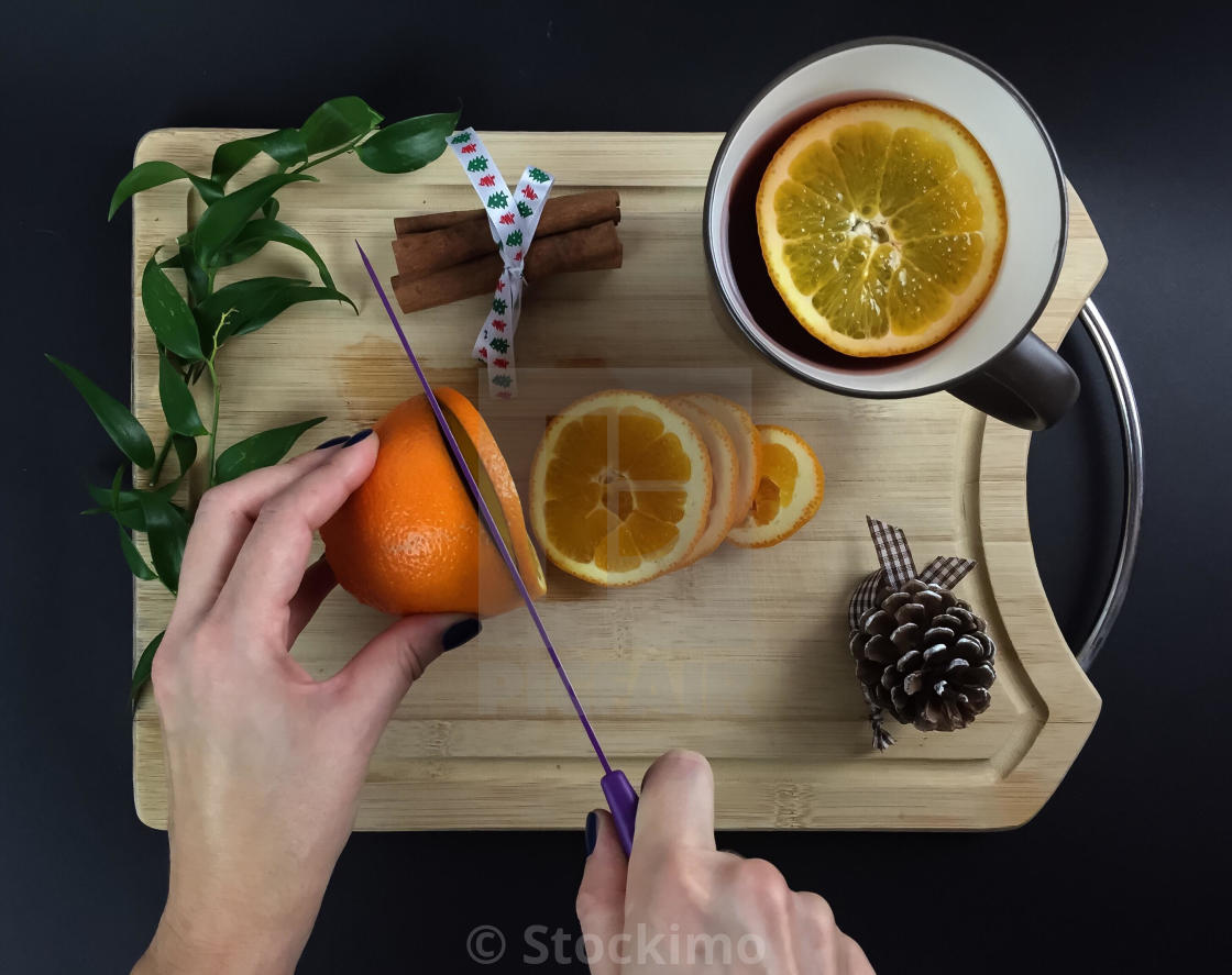 """Tea time"" stock image"
