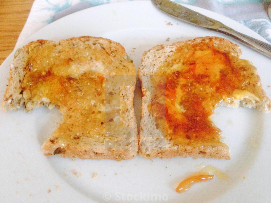 """""""Marmalade Taste Test"""" stock image"""