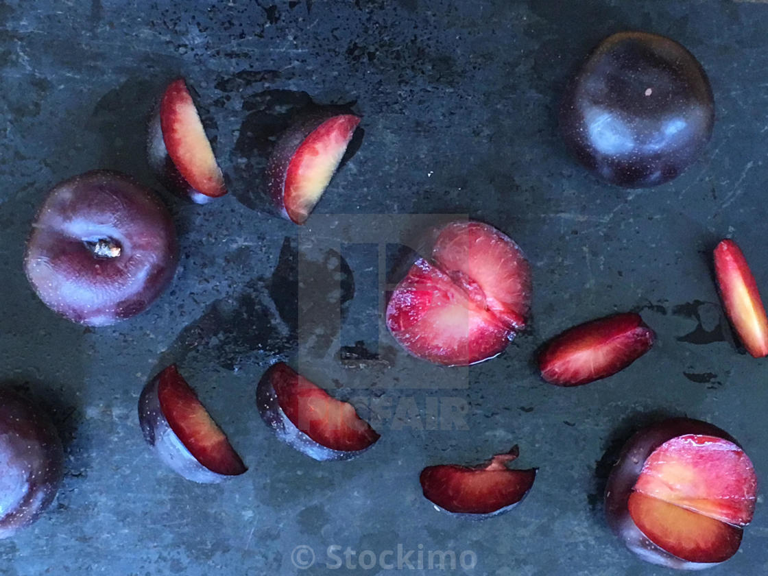 """Juicy plums"" stock image"