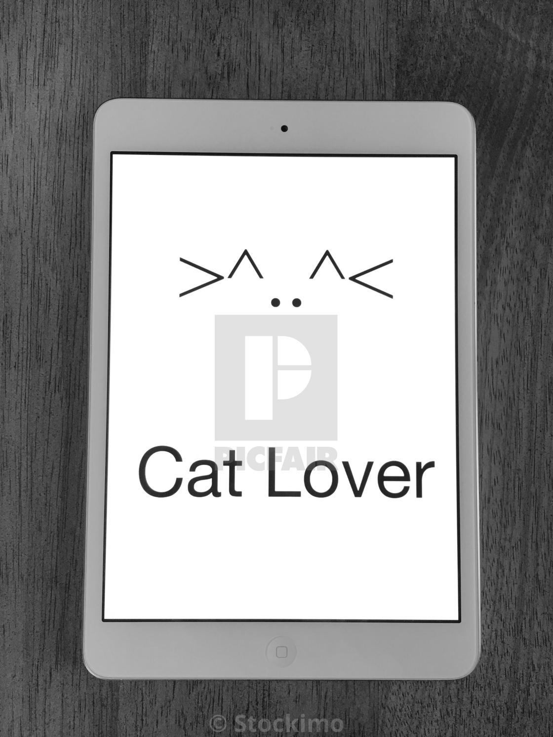 Keyboard Symbols Form A Cat With Ears And Whiskers License For