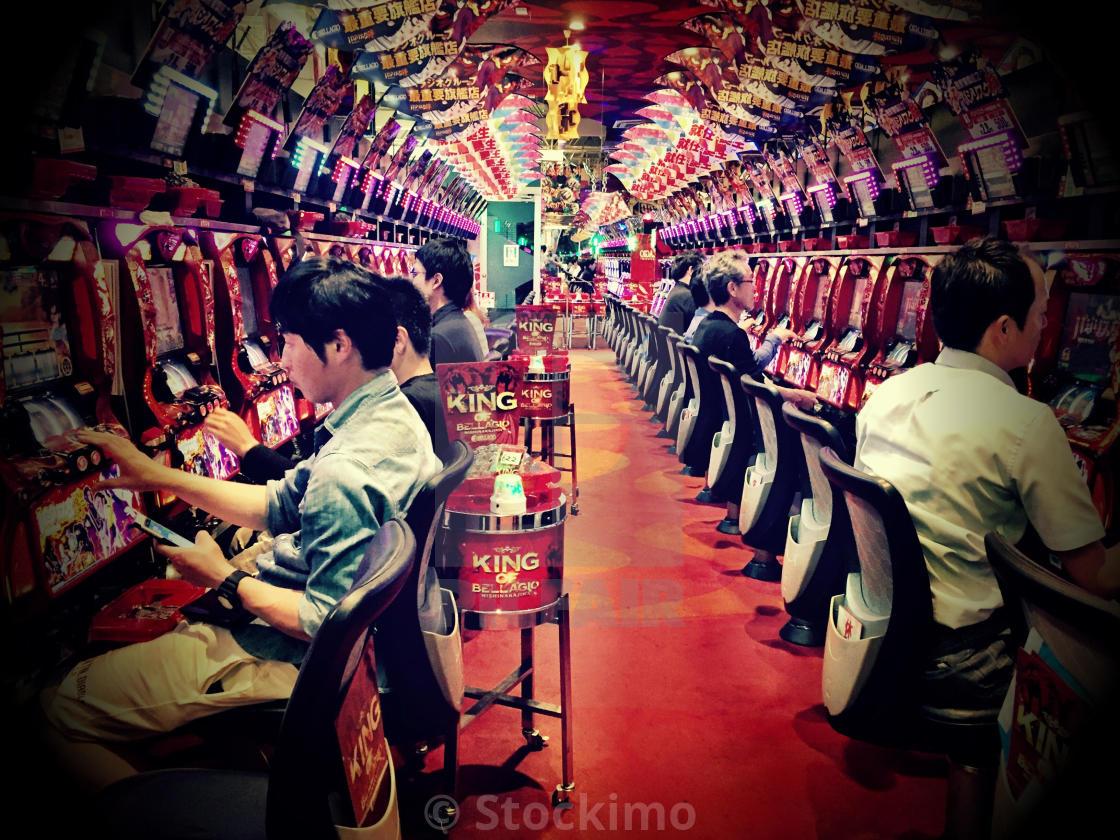 """""""Pachinko in Osaka"""" stock image"""