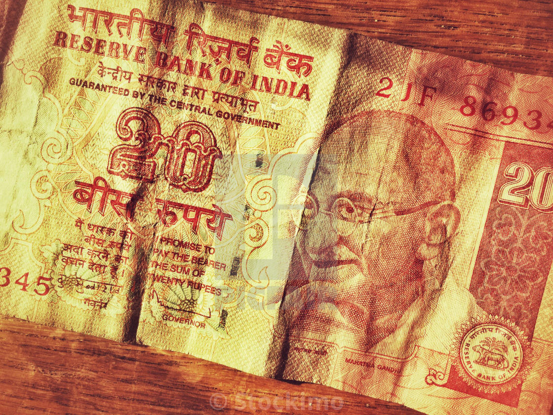 The Series 3 Indian 20-Rupee Note features a portrait of