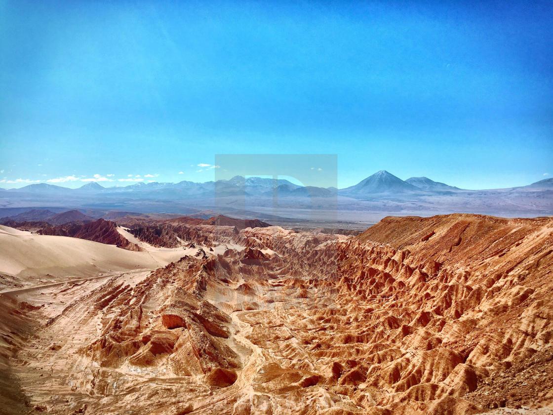Valle De La Muerte Atacama Chile License Download Or Print
