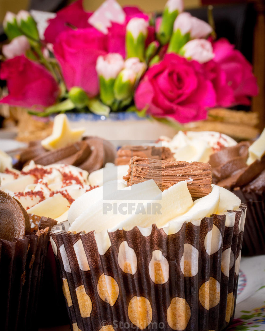 Birthday Cakes Stock Image