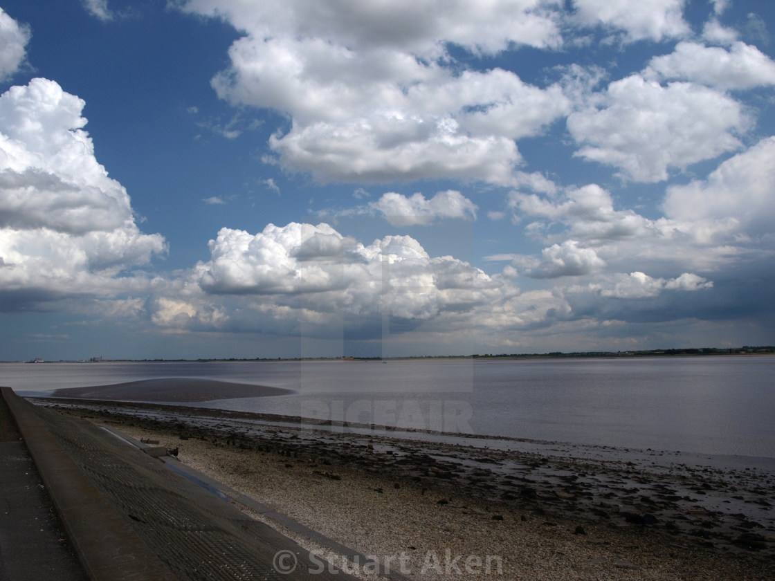 """Humber Foreshore"" stock image"