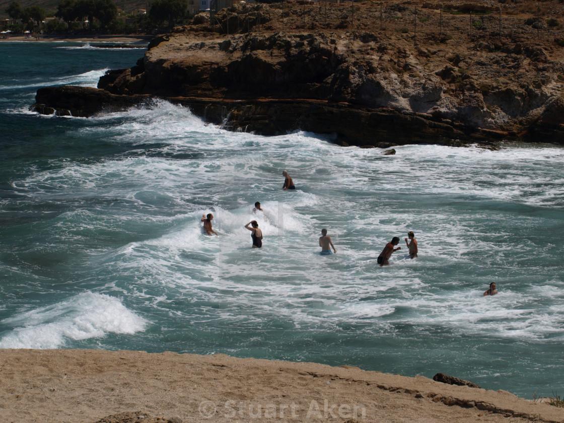 """Avlaki Beach"" stock image"
